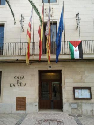 En la imagen, fachada del Ajuntament de Santa Margalida.