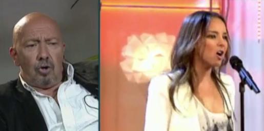 José Carlos Corradini, padre biológico de Chenoa, durante la entrevista que concedió al programa de Telecinco 'Sálvame Deluxe'.