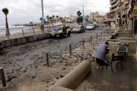 El temporal azota Mallorca