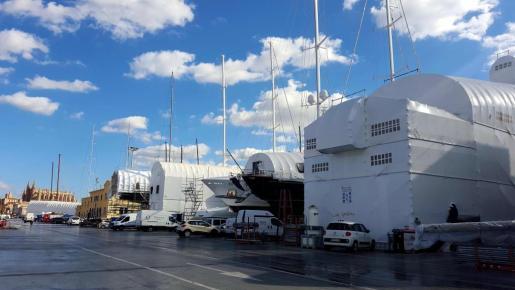 Servicios Técnicos Portuarios (STP) realiza al año el mantenimiento de 1.000 embarcaciones.