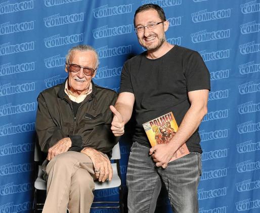 Dolmen ha viajado por primera vez al Comic Con de Nueva York, donde ha cerrado varios proyectos.