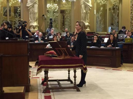 Quien fuera portavoz del grupo popular en la pasada legislatura regresa a la Cámara balear para ocupar la vacante de Maria Salom.