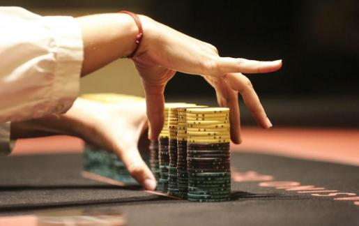 Imagen de un torneo de poker en Ibiza.