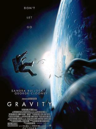 Cartel de la película 'Gravity'.