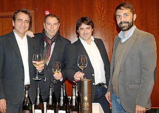 Bruno Colomer, Quico Soler, Xavier Nolla y Daniel Arias.