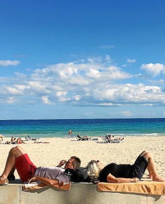 La temporada turística en Cala Millor ha sido excelente.