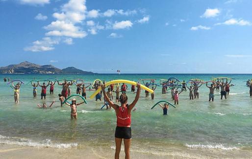 Además de la belleza de la playa se cuidan muchos aspectos como las actividades que se realizan.