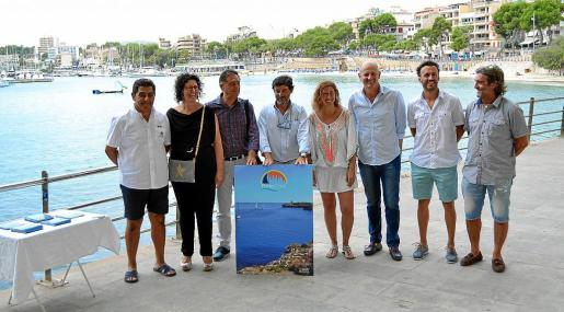 Presentación de la nueva marca turística «Porto Cristo» el pasado mes de agosto.