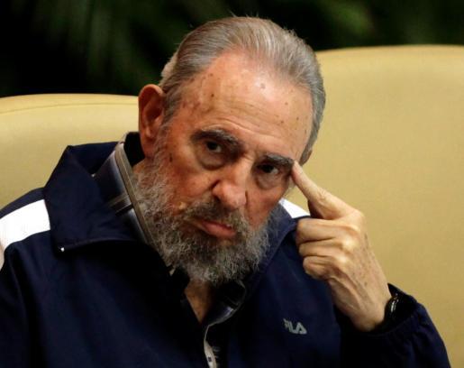 Fotografía de archivo de Fidel Castro.