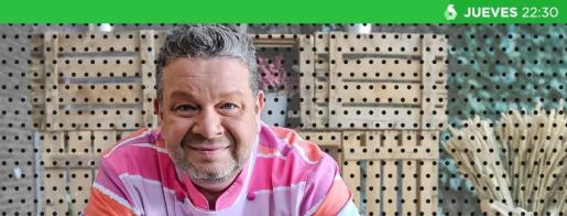 Alberto Chicote, en una imagen promocional del programa de La Sexta 'Pesadilla en la cocina'.
