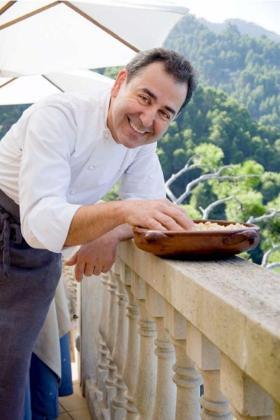 Benet Vicenç, chef de Béns d'Avall, el restaurante de Mallorca que ha logrado dos soles en la Guía Repsol 2017.