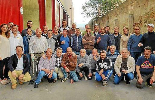 La plantilla de Apiba, formada por profesionales cualificados.