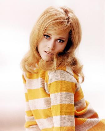 La actriz norteamericana Jane Fonda.