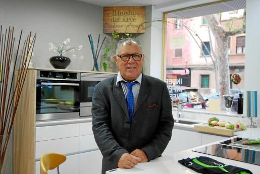 Darío Ruiz es el gerente de Baumann Balear y uno de los fundadores de la empresa.