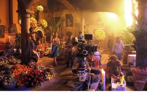 Mallorca ha acogido numerosos rodajes, como el de la superproducción rusa 'What girl don't talk about'.