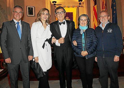 Jaime Vidal, Carmen Morillo, Javier Cortés, Neus Juncosa y José Luis Vidal.