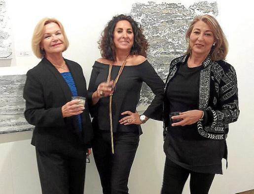 Brigitte Forster, Victoria Diez y Esperanza Sastre.