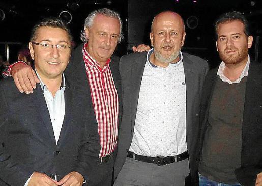 Carlos Durán, Biel Durán, Miquel Ensenyat y Martín Garrido Barón.