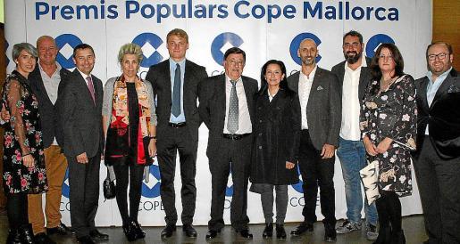 María José Suárez, Miguel Rullán, Toni Ferrer, Maria Magdalena Frau, Marcus Cooper, Bernat Esteva, Amada Salvá, Toni Gomila, Tomeu Fuster, Cati Vicenç y Tommy Ferragut.