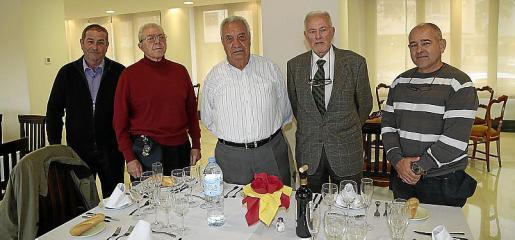 José Rodríguez, Saez de la Fuente, Raimundo Ortiz, Miguel Seguí y Manuel Henares.