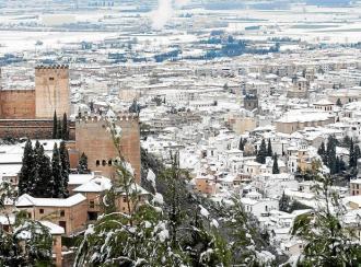 Blanca Navidad por España