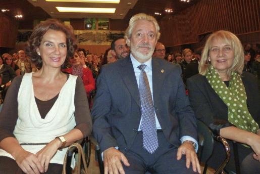 Beatriz Portillo, Raúl Izquierdo y Àgueda Ropero. Foto: E.P.