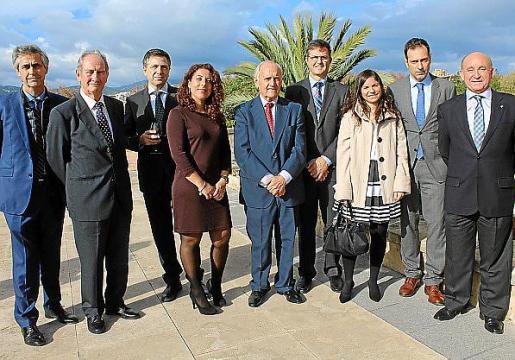 Michel Magnier, Cristóbal Santandreu, Luis Bachiller, Angélica Pastor, Elicio Ámez, Arnau Cañellas, Ana Marín, Pedro Vidal y Francisco Martorell.