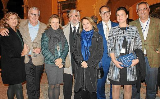 Sarah Lambourne, Josep Lluís Ferrer, Susana Munar, Rafel Salas, Marieta Gual de Torrella, Ignacio Fernández-Alegría, Irene Jover y Antoni Mercadal.