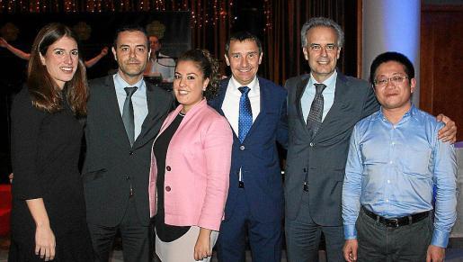 Isabel Crespí, Ricardo Hortigon, Ana Belén Alandi, Antoni Ferrer, José Ramón Fragoso y Shi Zhan.