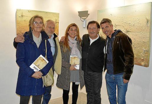 Michelle Cerdà, Martí Fluxà, Ana Fernández, Marto y Teddy Torkington.