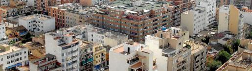 Imagen aérea de la ciudad de Palma