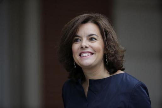 La vicepresidenta del Gobierno y ministra de la Presidencia, Soraya Sáenz de Santamaría, en una imagen de archivo.