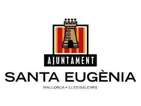 Motivo heráldico del ayuntamiento de Santa Eugènia