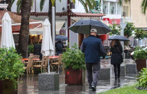 Los paraguas volverán a ser necesarios.