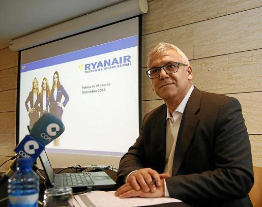 José Espartero, director de Ventas y Mercadotecnia de Ryanair-España.