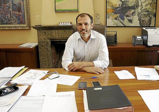 El vicepresidente y conseller de Innovació, Recerca i Turisme, Biel Barceló.
