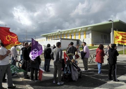 La protesta salió de Cort y llegó hasta el nuevo hospital de Son Espases.