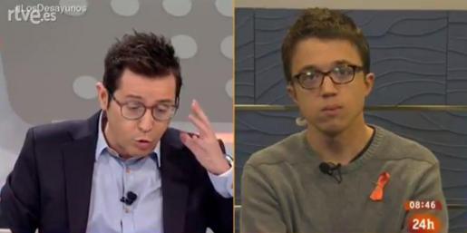Íñigo Errejón, en su intervención en el espacio matinal de TVE.