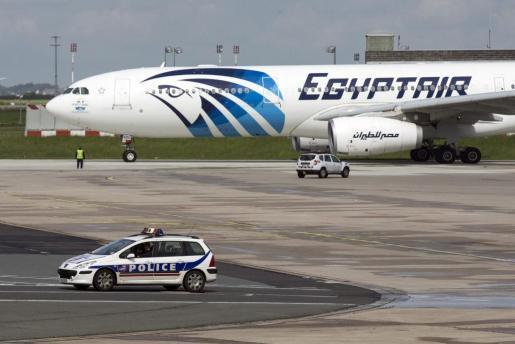 Avión de Egyptair.