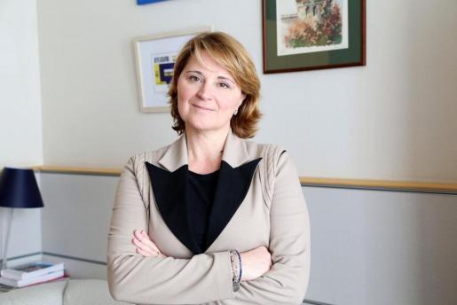 En la imagen, Rosa Estaràs, eurodiputada del PP.