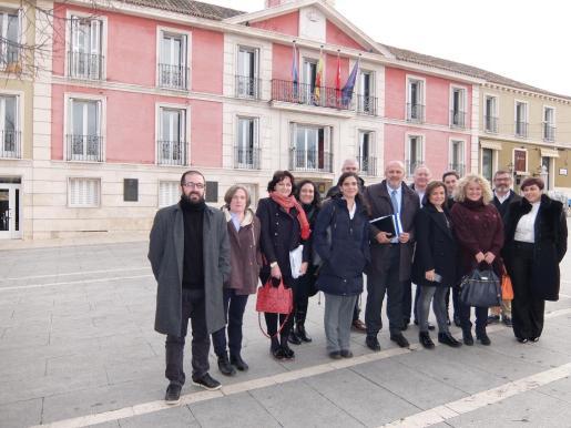 Imagen de grupo de los participantes de la Alianza de Paisajes Culturales.