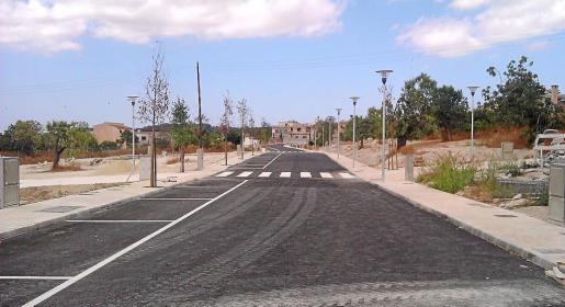 El solar que ha adquirido el Ajuntament de Montuïri se ubica en la nueva prolongación de la calle sa Mostra.