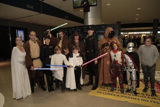 Los fans caracterizados como sus personajes favoritos de la saga de Star Wars