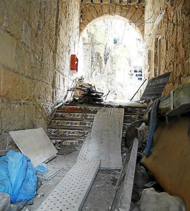 Degradación del edificio de Can Roca Suau en Palma