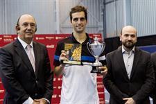 Albert Ramos se ha alzado por primera vez con el título de campeón de España absoluto.