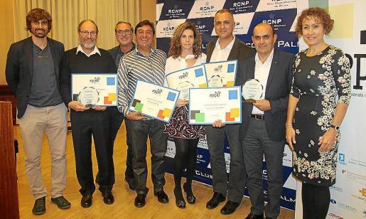 Carles Gonyalons, José Rigo, Tolo Gayà, José Manuel López, Conchi Salom, Xim Hierro, Toni Sierra y Neus Mateu.