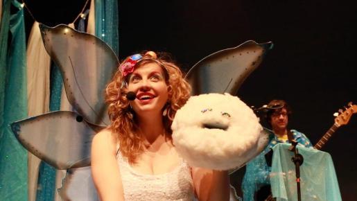 En la imagen, un momento del espectáculo La màgia d'en Cotonet.