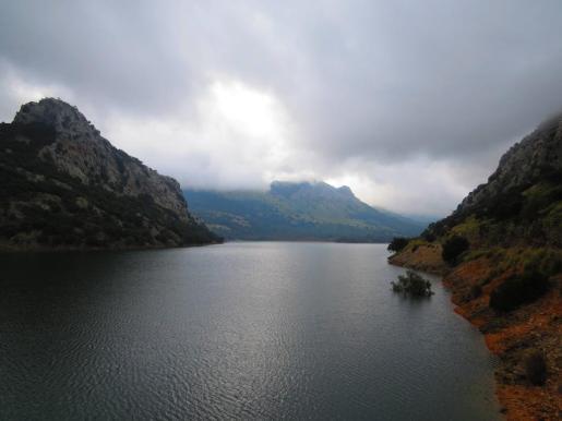 Imagen de archivo del embalse del Gorg Blau.