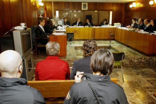Imagen de la segunda sesión del juicio contra 'El Brujo' celebrado hoy.