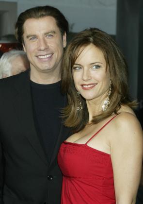 John Travolta y su mujer Kelly Preston, en una imagen de archivo.